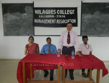 Management Association Programme at Milagres College, Kallianpur