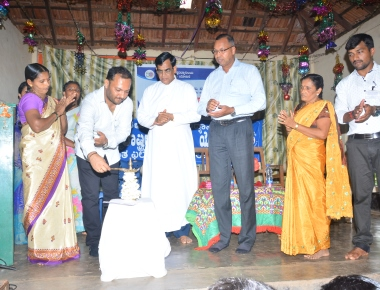 Inauguration of NSS Annual Special Camp of St Philomena College Puttur