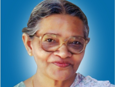 Mrs Alice Abraham (85) wife of late Dr. C. T. Abraham, Founder of Priority One India and its institutions, passed away