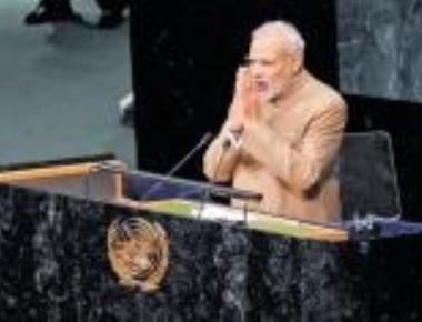 Sikhs, Patels protest against Modi at UN headquarters