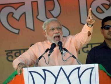 Modi accuses opposition of doing politics of polarisation