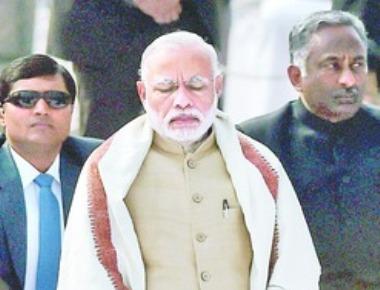 Modi 'Jagadguru' of politics of blackmail: Congress