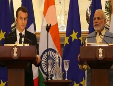 India, France to work together in India Ocean, combat terrorism