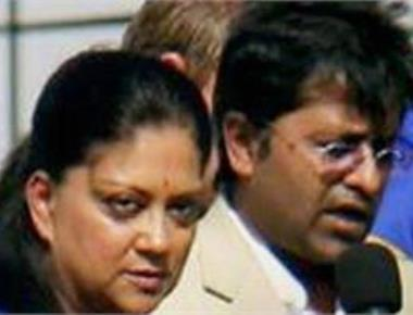 'Criminal nexus' between Lalit Modi and Raje family