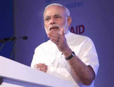Modi criticises Congress for not cooperating