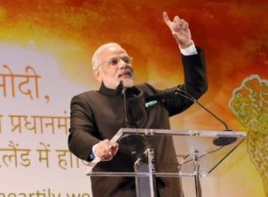 Modi arrives in US; packed schedule ahead of him