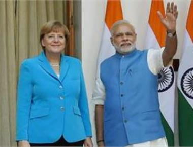 Modi, Merkel visit Bosch facilit
