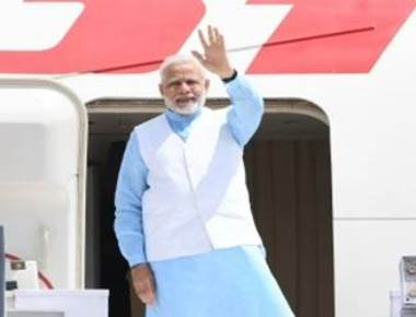 Modi departs on three-nation Africa tour