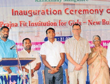 New building of Prajna Fit Institution for Girls opened
