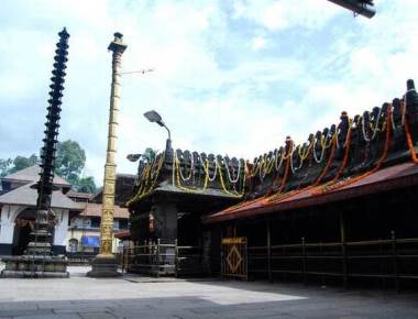 All set for Maha Navaratri festival at Mookambika temple in Kollur