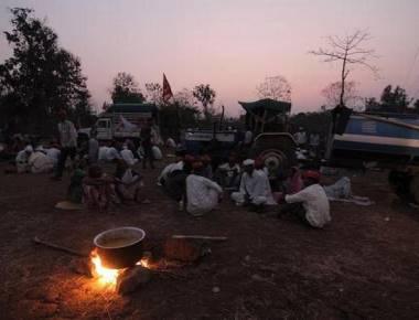 Kisan Sabha protest march reaches Mulund