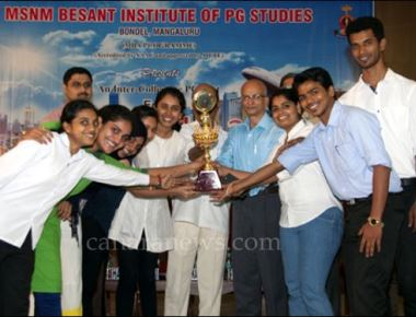 MSNM Besant Institute of PG Studies, Bondel conducts 'Edify – Smart City'