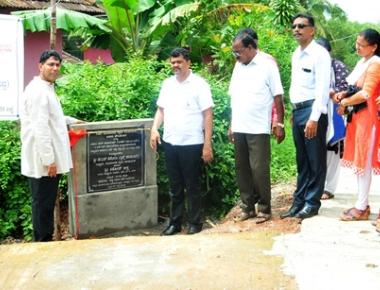 Mudarangadi GP gets four concrete roads under Adani CSR worth Rs 25.87 lac