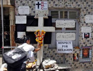 Series of desecrations in Mumbai upsets Christians