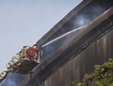 National Museum of Natural History gutted, 6 firemen injured