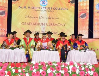 M V Shetty Colleges celebrate Graduation Day and Institution Day