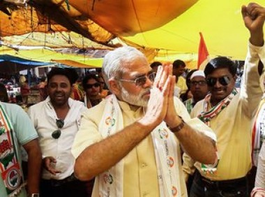 Congress supports urban Maoists, says Modi in Chhattisgarh
