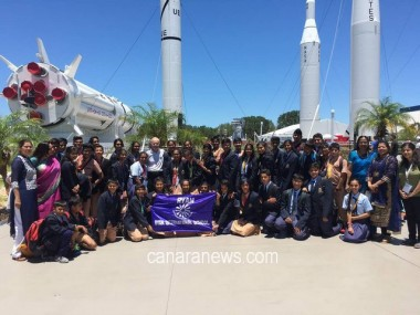 RYAN International School Students Visit NASA