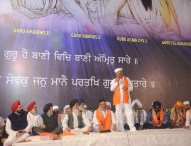 Gursewak Jatha Navi Mumbai celebrates 'Nava Saal Guru De Naal' 2016 at Gurudwara Sanpada.