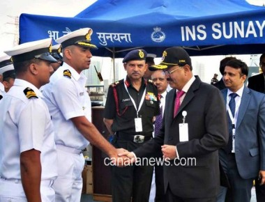 Navy concluded its participation in the International Defence Expo (IDEX 17)