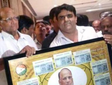 NCP targets BJP leaders for photos with alleged Dawood aide