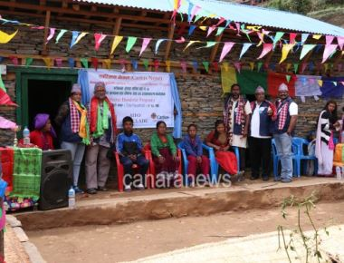 Houses handed over for Nepal Eathquake Victms