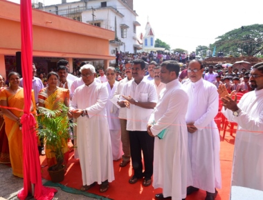 New building of St Mary's Central School Kinnigoli inaugurated, blessed