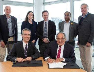 Plymouth University signs MOU with Nitte for research into climatic change effects'