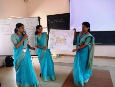 Workshop on NLP held at Mount Carmel Central School