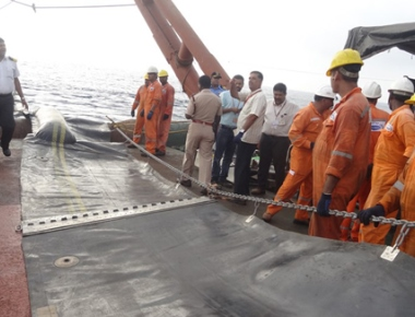 NMPT conducts oil spill mock drill at SPM