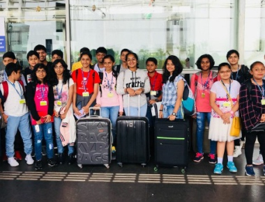Students of Manipal School visit NASA
