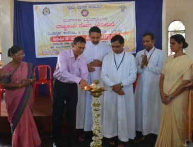 NSS unit of Milagres College holds special camp