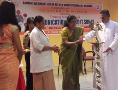 Soft skill training programme held at Father Muller College of Nursing