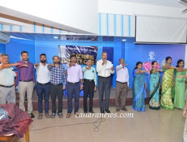 National Voters' Day celebrated at St Philomena College Puttur