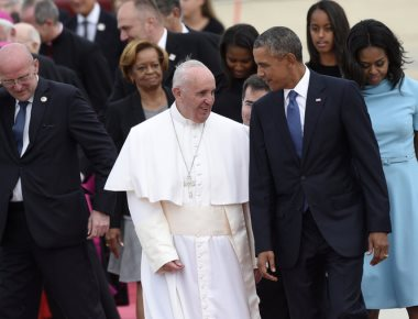 Pope Francis begins tour of the US