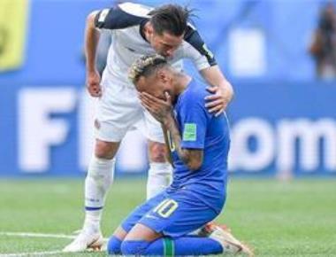 Neymar scores! And sister dislocates shoulder