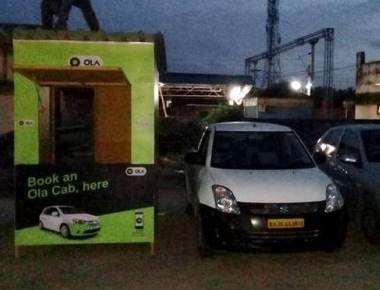 Mangaluru Junction gets Ola cabs