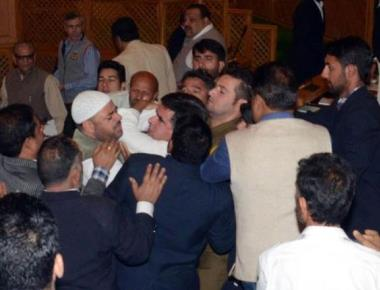 MLA thrashed over beef party: Omar says 'done in Dadri way'