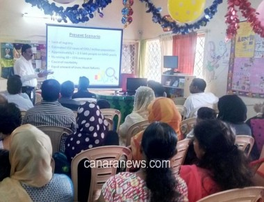 Organ Donation Awareness Talk at Eurokids, Kaprigudda