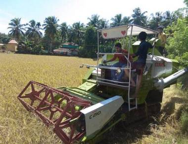 Harvesters make it easy for farmers