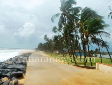 Sea erosion reported from Padukere