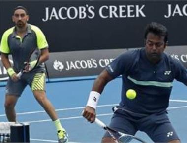 Paes and Raja lose in pre-quarters of Aus Open