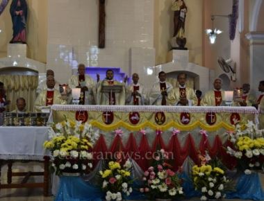 Udupi:  Grand celebration of Annual Feast of St. John Evangelist Church Pangla