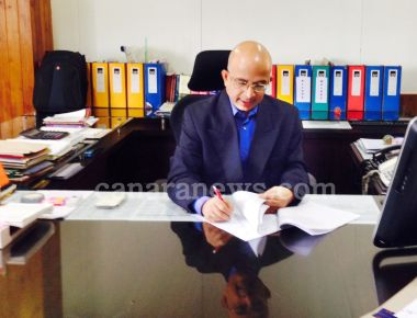S S Pattanashetty, has officially taken charge as the Deputy Commissioner of the District today on Monday Sep 1.