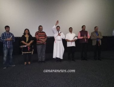 'Sophiya' in Sharjah Super Successful House Full Show – Inaugurated By Rev. Fr. Maxim