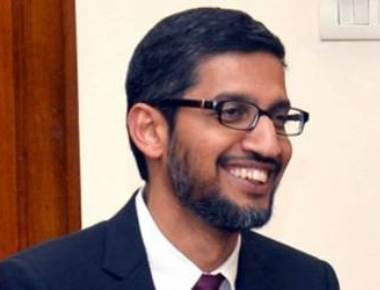 Google's Pichai offers internet training for small Indian companies