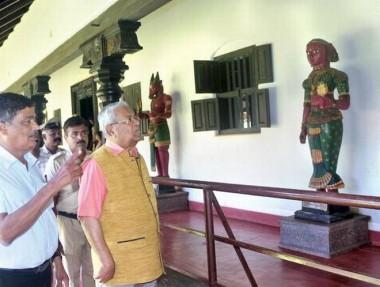 P.B. Acharya visits Pilikula Nisargadhama