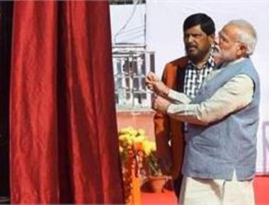 Modi inaugurates BR Ambedkar International Centre