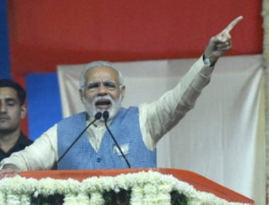 Bad loans to banks by UPA regime a big scam, says Modi