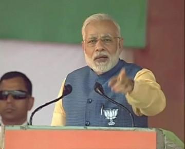 Countdown for the exit of Congress govt in Karnataka has begun: Narendra Modi